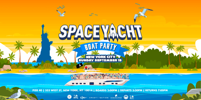 SPACE YACHT Boat Party on INFINITY in NYC