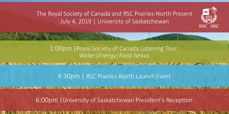 The Royal Society of Canada and RSC Prairies-North Present tickets