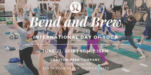 Bend and Brew - International Day of Yoga