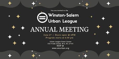 W-S Urban League Annual Meeting tickets