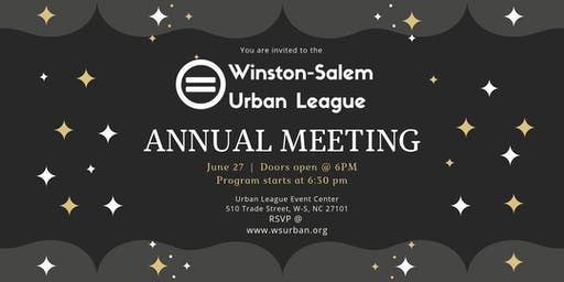 W-S Urban League Annual Meeting
