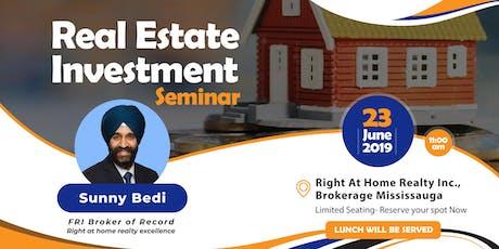 Real Estate Investment Seminar - 23 Jun tickets