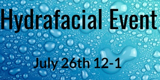 Hydrafacial Lunch and Learn