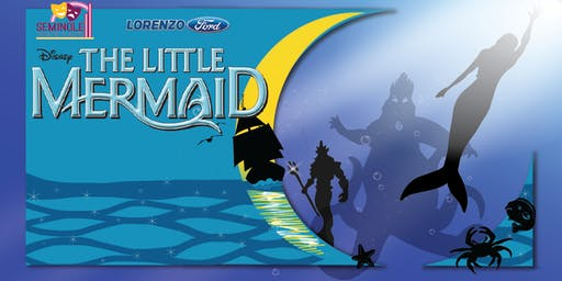 The Little Mermaid- Saturday, August 3rd 2pm