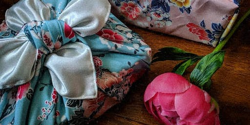 Furoshiki Giftwrap workshop