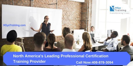 PMP (Project Management) Certification Training In Victoria, BC tickets