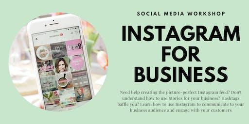 Instagram for Business - 12th September 2019