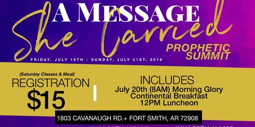 A Message She Carried Prophetic Summit