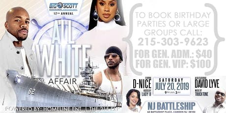 All White Affair | Hosted by: Big Scott | Homeline Ent tickets