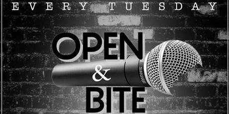 OPEN MIC & BITE: THE RETURN tickets