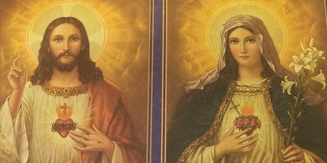Champion Shrine Novena to Sacred Heart of Jesus & Immaculate Heart of Mary  entradas