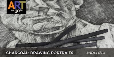 THU - Charcoal: Drawing Portraits with Duke Windsor
