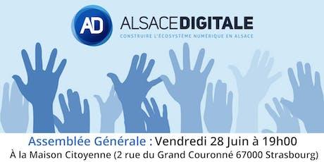 Alsace Digitale : Assemblée Générale 2019 billets