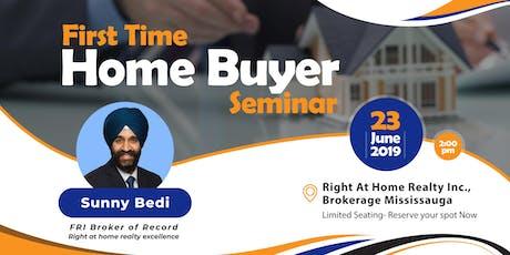 First Time Home Buyer Seminar - 23 Jun tickets