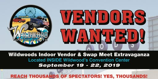 Wildwood's Indoor Vendor & Swap Meet Extravaganza