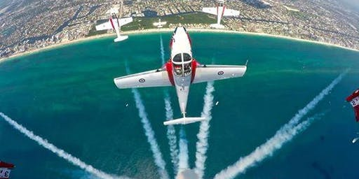 2019 Great Pacific Airshow on a Luxury Yacht - Sun 10/6/19