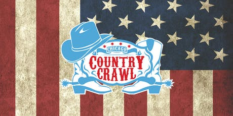 2019 Chicago Country Crawl - A Country Bar Crawl in Wrigley tickets