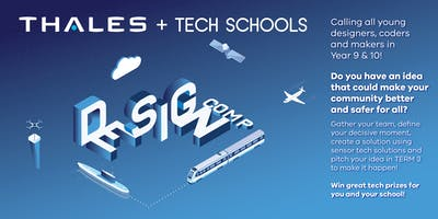 Thales + Tech Schools Design Comp Immersion Day