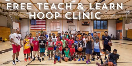 FREE Teach and Learn Hoop Clinic tickets