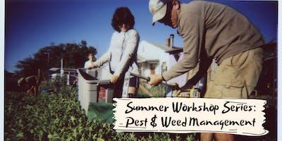 Raisin' Roots Workshop Series: Pest & Weed Management
