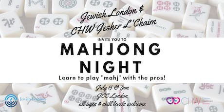 Learn to play Mahjong! tickets