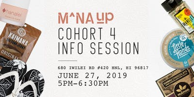 Mana Up Cohort 4 Info Session