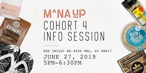 Mana Up Cohort 4 Info Session