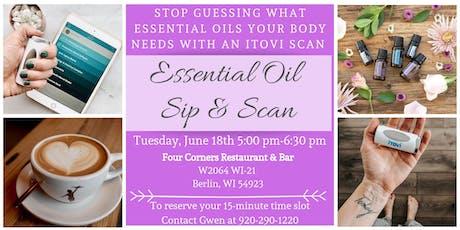 Essential Oil Sip & Scan with Gwen tickets