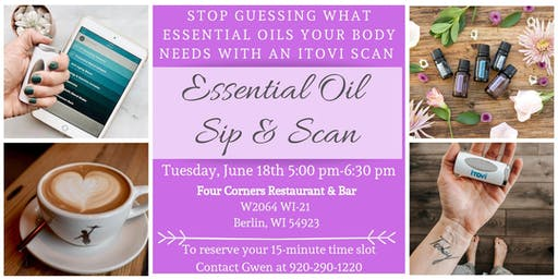Essential Oil Sip & Scan with Gwen