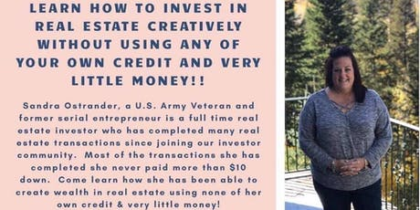 Real estate investing without using credit tickets
