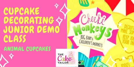 Cupcake Decorating Junior Demo Classes tickets