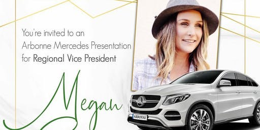 Megan Cesario Benz Bash