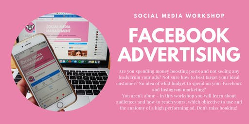 Facebook Advertising for Small Businesses - 3rd October 2019