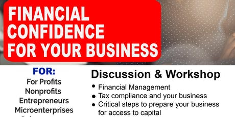 Financial Confidence for Your Business Discussion & Workshop tickets