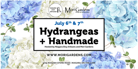 Hydrangeas + Handmade: Feat. Niagara Etsy Artisans Market tickets