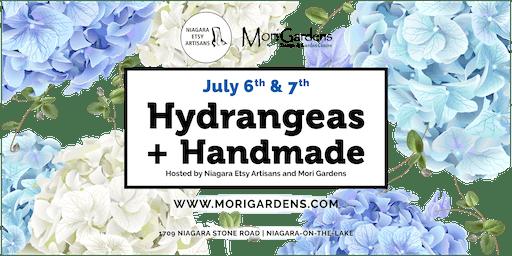 Hydrangeas + Handmade: Feat. Niagara Etsy Artisans Market