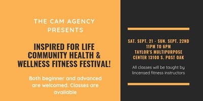 Inspired For Life Community Health and Wellness Fitness Festival