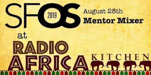 SF Open Studios Mentor Mixer at Radio Africa Kitchen