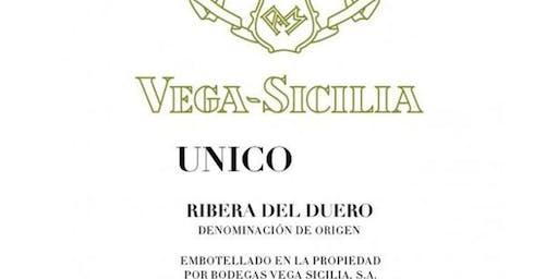 Vega -Sicilia Unico Wine Dinner