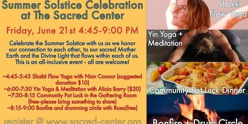 Summer Solstice Celebration at The Sacred Center