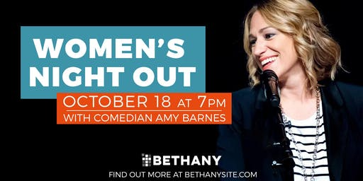 Ladies' Night Out  with Amy Barnes