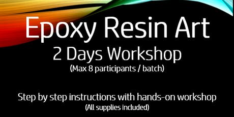Epoxy Resin Art Workshop tickets