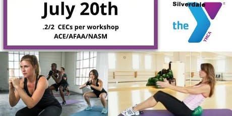 Continuing-Ed Workshops for Fitness Instructors tickets