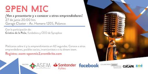 Open Mic 02 con Cristina de la Peña, Synapbox