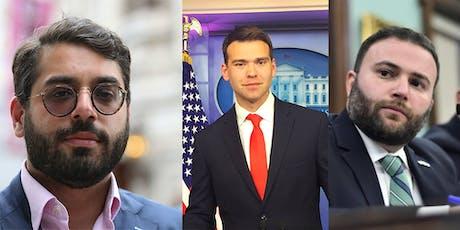 June Speaker Series Raheem Kassam, Jack Posobiec, & Joe Borelli tickets