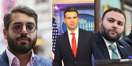 June Speaker Series Raheem Kassam, Jack Posobiec, & Joe Borelli