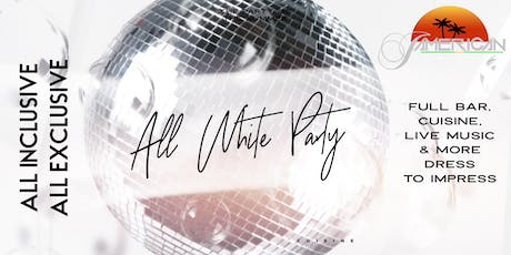 **ALL INCLUSIVE** All White Party at Jamerican Cuisine VIP PARTY tickets