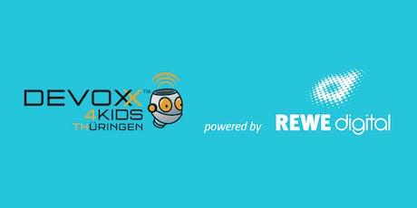 Devoxx4Kids Thüringen powered by REWE digital Tickets