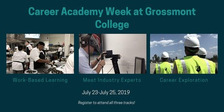 Grossmont College Career Academy Week tickets