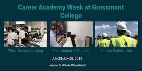 Grossmont College Career Academy Week tickets